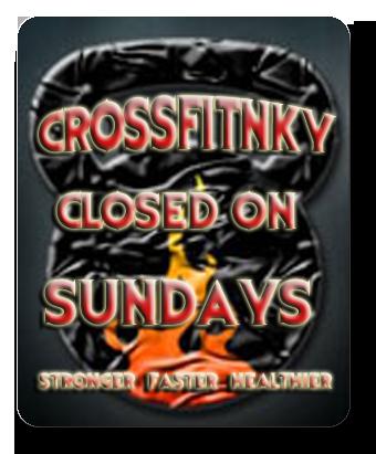 crossfitnky_closed_on_sundays