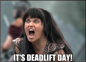 Deadlift Day